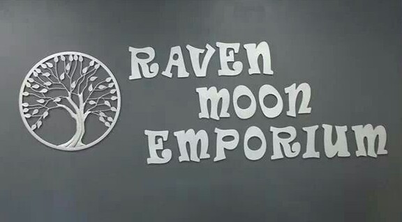 Raven Moon Indoor Sign