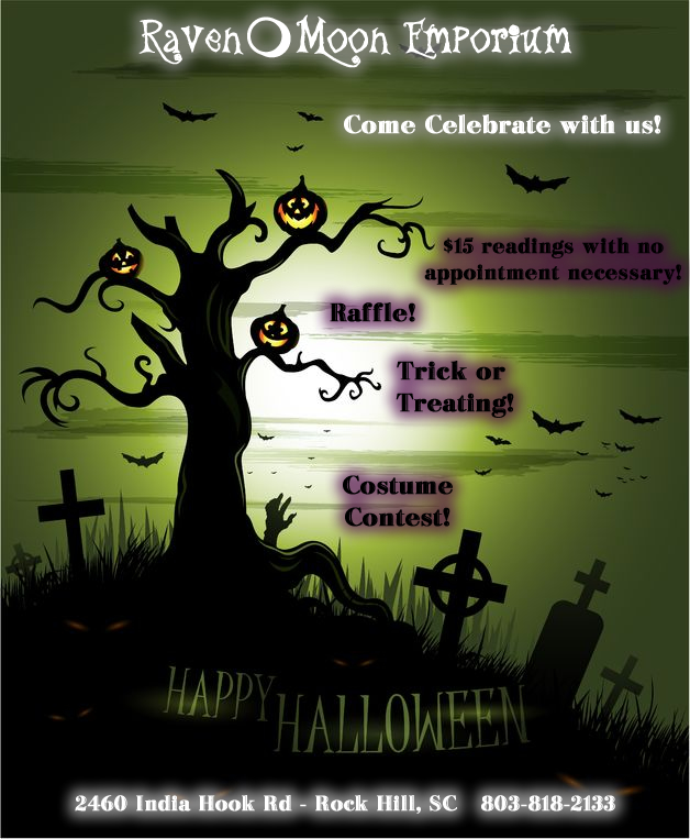 RME-Halloween flyer