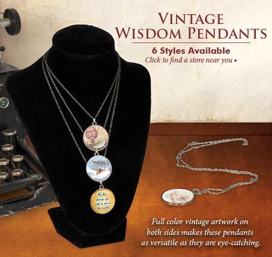 Wisdom-pendants